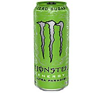 Monster Energy Drink Zero Sugar Ultra Paradise - 16 Fl. Oz.