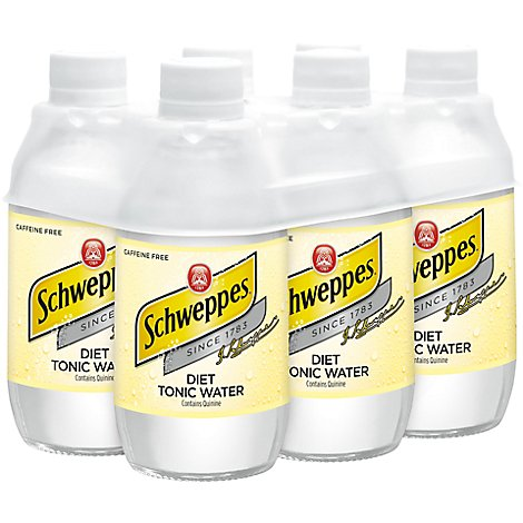 Schweppes Diet Tonic - 6-7.5 Fl. Oz.