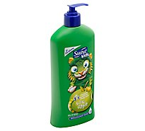 Suave Kids Shampoo + Conditioner + Body Wash 3 in 1 Silly Apple - 18 Fl. Oz.