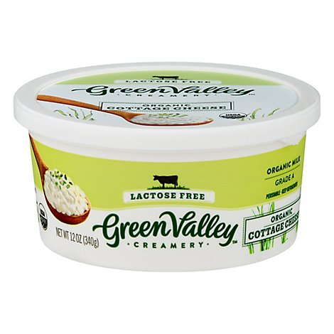 Green Val Cottage Cheese Lactose Fr - 12 Oz