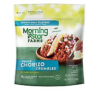MorningStar Farms Veggie Meal Starters Crumbles Chorizo - 10 Oz