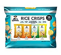 Quaker Rice Crisps Assorted 14 Count - 11.1 Oz