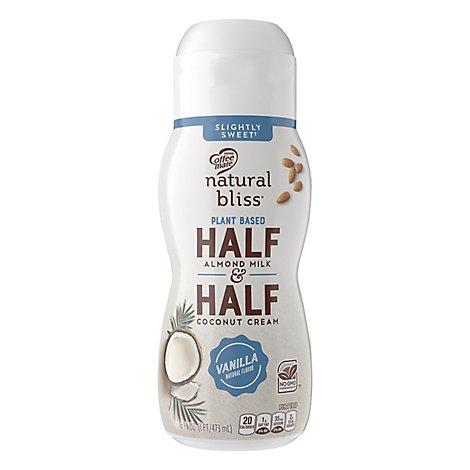 Coffee-Mate Half & Half Almond Milk & Coconut Cream Vanilla - 16 Fl. Oz.