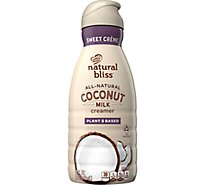 Coffee-Mate Natural Bliss Creamer Liquid Coconut Milk Sweet Creme - 32 Fl. Oz.