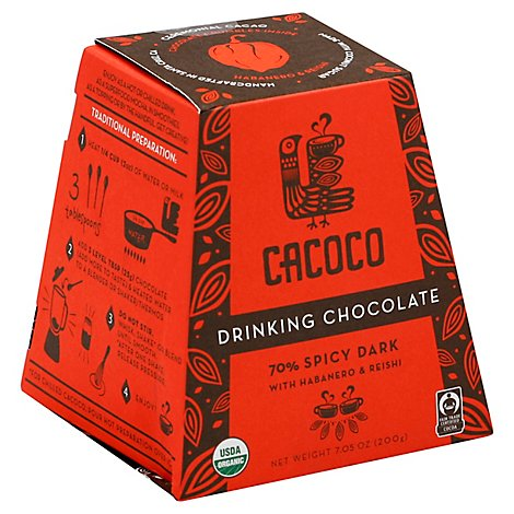 Cacoco 70% Spicy Drinking Chocolate - 7.05 Oz