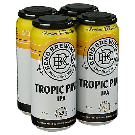 Tropic Pines Ipa In Cans - 4-16 Fl. Oz.