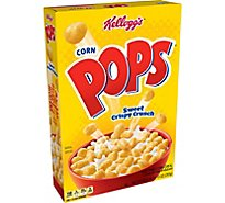 Corn Pops Cereal Sweetened Corn - 10 Oz