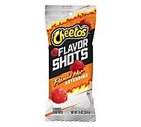 Cheetos Flamin Hot Cheese Flavored Snacks Flavor Shots Asteroids - 1.25 Oz