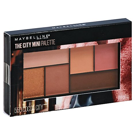 City Mini Pallettes Cocoa City - .14 Oz