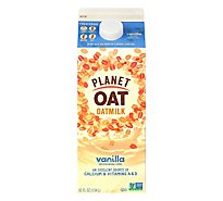 Planet Oat Vanilla Milk - 52 Fl. Oz.