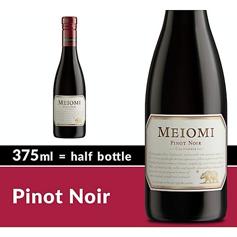 Meiomi Pinot Noir Red Wine - 375 Ml