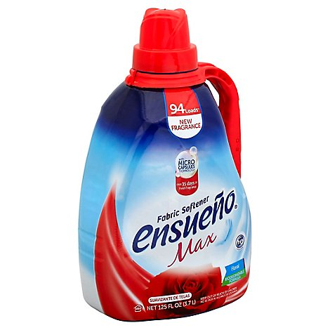 Ensueno Max Fabric Softener Floral - 125 Fl. Oz.
