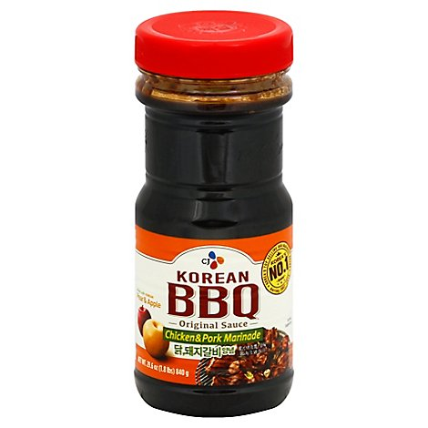 Cj Bbq Sauce Chicken & Pork - 29.63 Oz