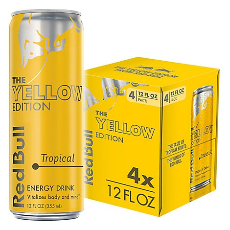 Red Bull Yellow Edition - 4-12 Fl. Oz.