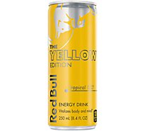 Red Bull Energy Drink Tropical - 8.4 Fl. Oz.
