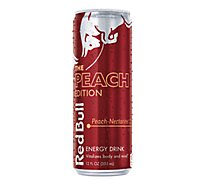 Red Bull Energy Drink Peach Nectarine - 12 Fl. Oz.