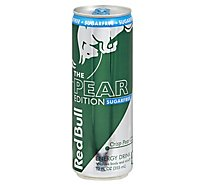 Red Bull Pear Edition Sugar Free - 12 Fl. Oz.