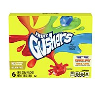 Gushers Strw/Tropical Vp 6ct - 4.8 Oz