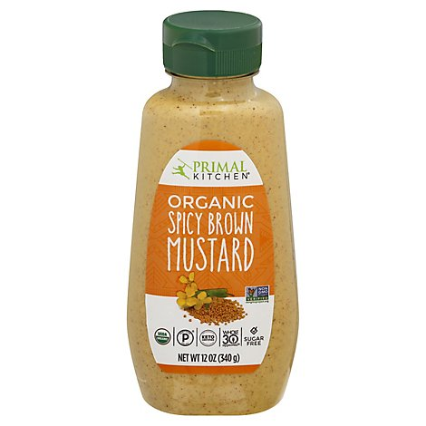 Primal Ki Mustard Spicy Brown - 12 Oz