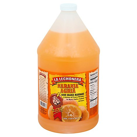 La Lechonera Marinade Naranja Agria Sour Orange - 128 Fl. Oz.