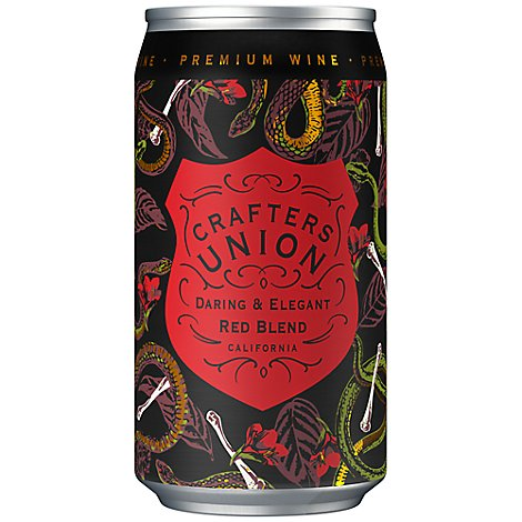 Crafters Union Red Blend Red Wine - 375 Ml