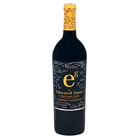 Educated Guess North Coast Cabernet Wine - 750 Ml