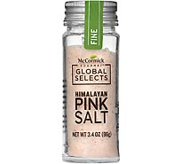 McCormick Gourmet Global Selects Salt Himalayan Pink Fine - 3.4 Oz