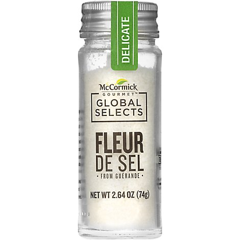 McCormick Gourmet Global Selects Fleur De Sel from Guerande - 2.64 Oz
