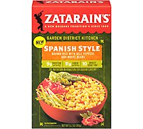 Zatarains Garden District Kitchen Brown Rice Spanish Style - 5.7 Oz