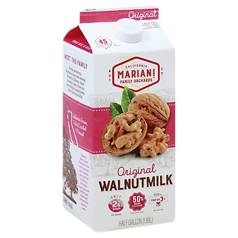 Mariani Walnutmilk Original - 64 Oz