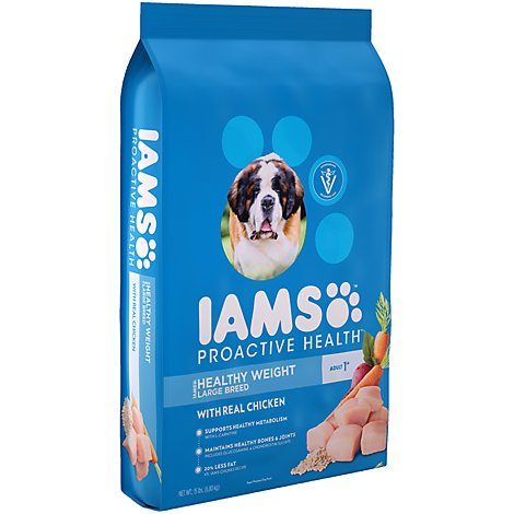 IAMS Proactive Health Dog Food Adult Weight Control Large Breed - 15 Lb