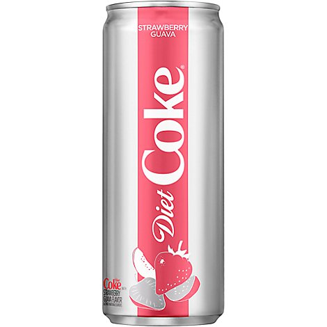Coke Soda Diet Strawberry Guava Can - 12 Fl. Oz.