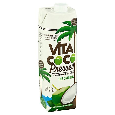 Vita Coco Coconut Water Pressed Coconut - 33.8 Fl. Oz.