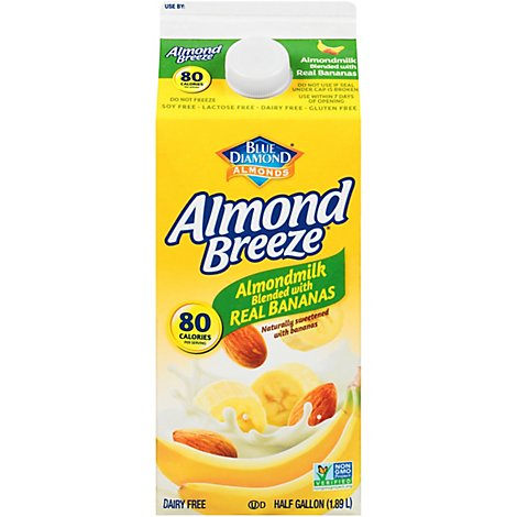 Blue Diamond Almond Breeze Banana - 64 Fl. Oz.