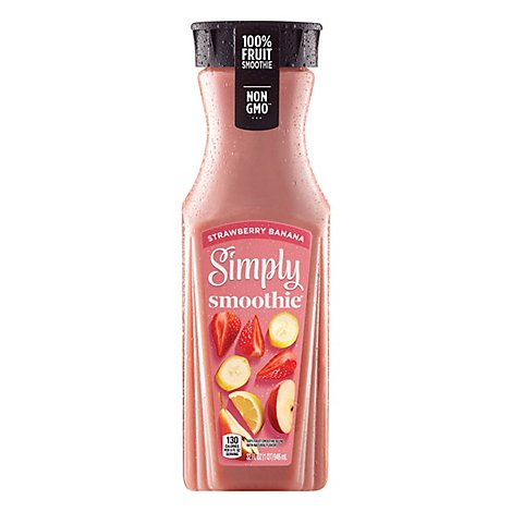 Simply Smoothie Strawberry Banana - 32 Fl. Oz.