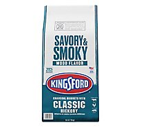 Kingsford Charcoal Briquets With Hickory - 16 Lb