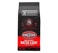 Kingsford Charcoal Briquets Match Light - 8 Lb