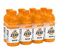 Gatorade Zero Thirst Quencher Zero Sugar Orange - 8-20 Fl. Oz.
