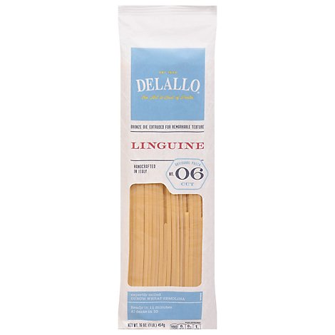 DeLallo Pasta Linguine No. 6 - 16 Oz