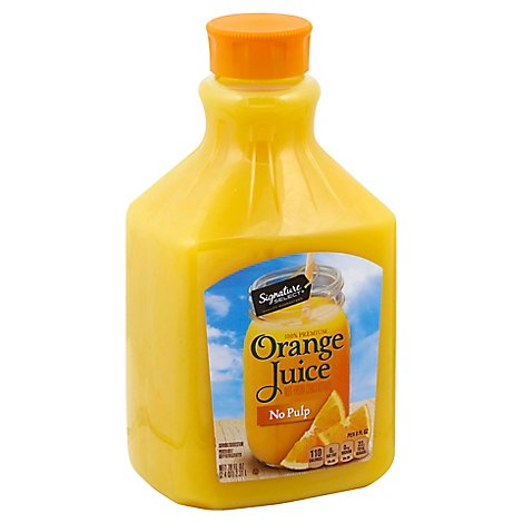Signature SELECT Orange Juice Not From Concentrate Original - 78 Fl. Oz.
