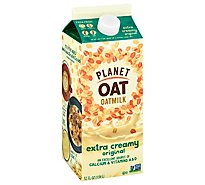Planet Oat Oatmilk No Sugar Added Extra Creamy Original - 52 Fl. Oz.