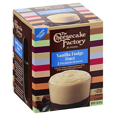 The Cheesecake Factory Vanilla Fudge Duet Dessert - 11 Oz
