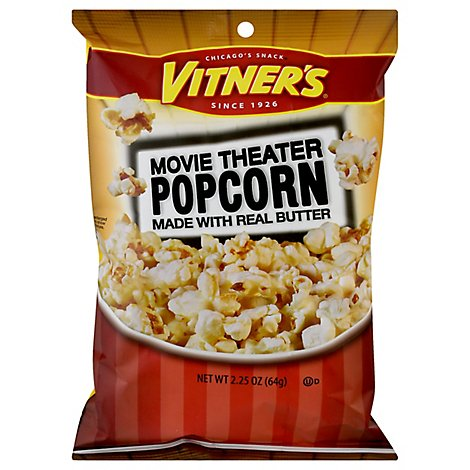 Vitners Movie Theater Popcorn - 2.25 Oz