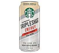 Starbucks Tripleshot Energy Coffee Beverage Extra Strength French Vanilla - 15 Fl. Oz.