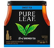 Pure Leaf Tea Brewed Sweet - 6-16.9 Fl. Oz.