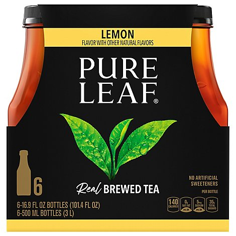 Pure Leaf Lemon Tea - 6-16.9 Fl. Oz.