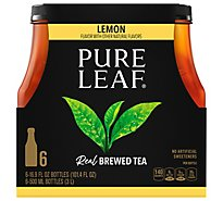 Pure Leaf Tea Brewed Lemon - 6-16.9 Fl. Oz.