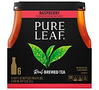 Pure Leaf Tea Brewed Raspberry - 6-16.9 Fl. Oz.