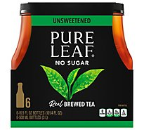 Pure Leaf Tea Brewed Unsweetened - 6-16.9 Fl. Oz.