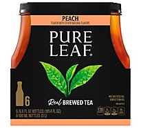Pure Leaf Tea Brewed Peach - 6-16.9 Fl. Oz.